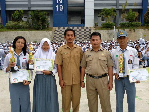 Comeback! SMKN 19 Meraih Juara 1 Putra dan Putri O2SN Tingkat Provinsi Kaltim 2018