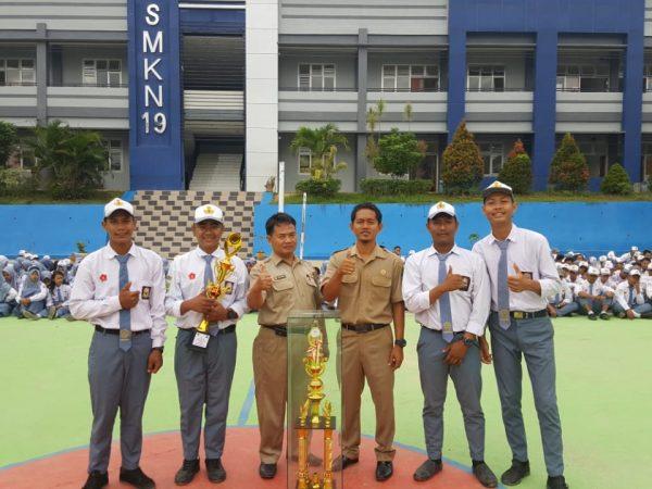 SMKN 19 Juara 1 Lomba Akustik DICS Natalis SMAN 1 Sanga-Sanga Ke 27
