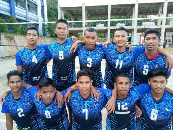 Team Volly Putra SMKN 19 SMD