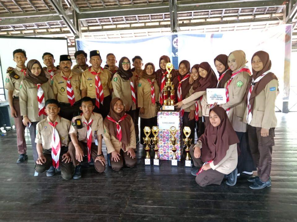 Team SMKN 19 Bersama Panitia Saka Kencana Kota Samarinda