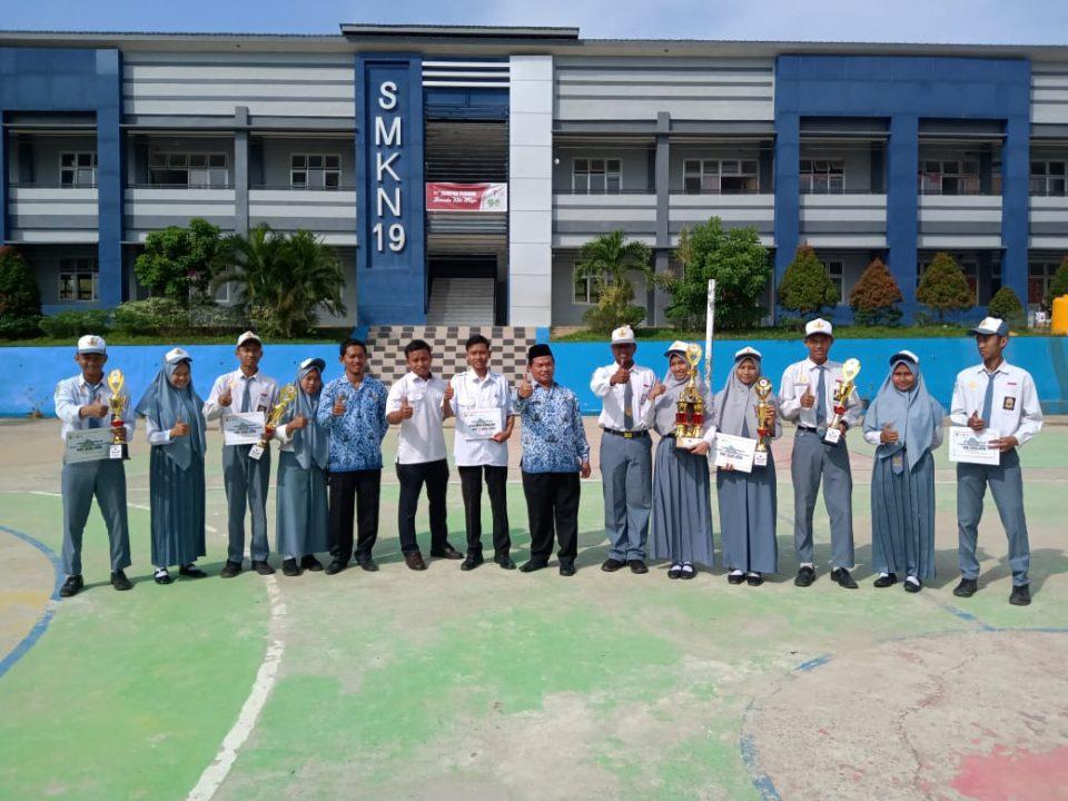 Pramuka Gugus Depan Jaya Kusuma SMK Negeri 19 Samarinda Raih Juara Umum Lomba Galaksi (Gelar Aksi dan Kreasi) Saka Kencana Kota Samarinda